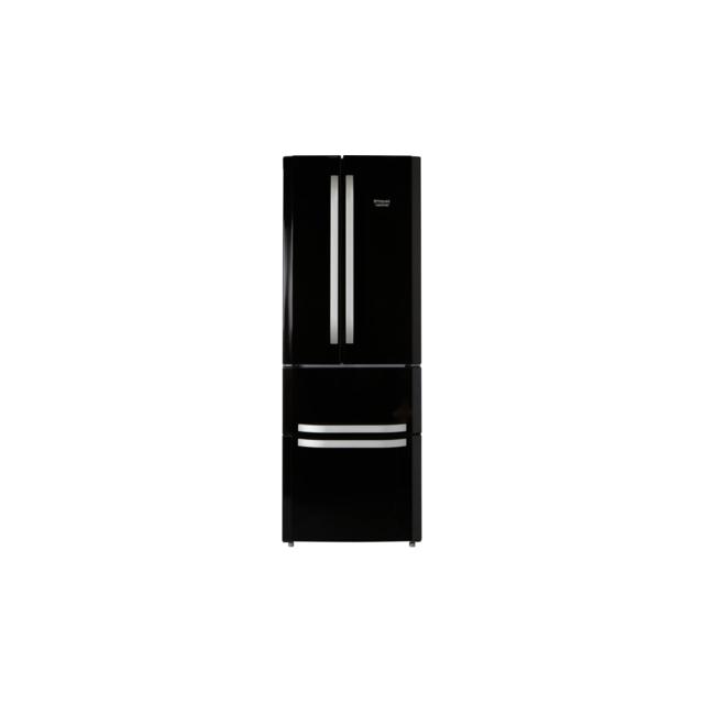 HOTPOINT Réfrigérateur deux portes - E4D AA B C - Noir