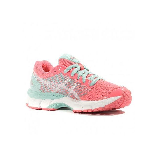Asics Gel Nimbus 18 Gs Fille Chaussures Running Rose