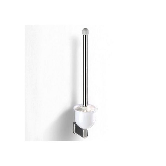 Formes   Brosse Wc Mural Avec Support Abs Chromé C 1System Series 430 X 95