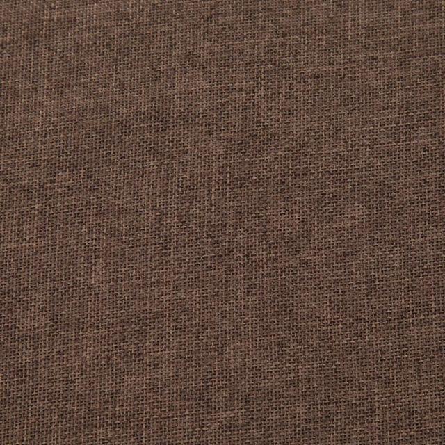 Icaverne - Bancs coffres selection Banc avec compartiment de rangement 116 cm Marron Polyester