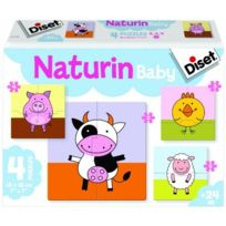 Diset - 63783 - Puzzle - Naturin Baby