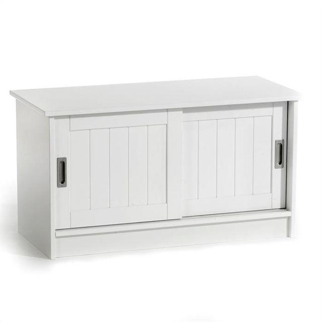 idimex banc de rangement hein laqu blanc pas cher. Black Bedroom Furniture Sets. Home Design Ideas