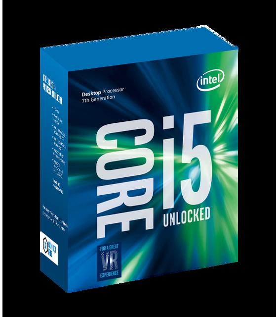 INTEL - Processeur Core i5-7600K 3.80GHz LGA1151 - KABYLAKE