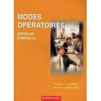 Bertrand Lacoste - modes opératoires office xp+ethnos 2.5