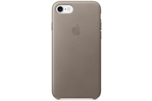 uk availability order fantastic savings APPLE - Coque iPhone 7 cuir taupe - pas cher Achat / Vente ...