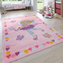 Carpettex Teppich Tapis pour Chambre denfants /à Carreaux Nuage Etoiles Gris Jaune Blanc 160x230 cm