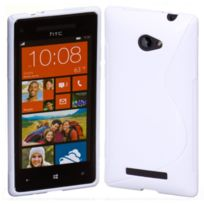 Bluetrade - Coque Tpu type S pour Htc 8S-blanc