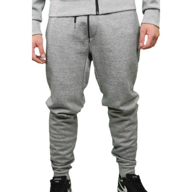 2d96fc014c40aa Ralph Lauren - Pantalon de jogging gris pour homme - pas cher Achat   Vente  Pantalon homme - RueDuCommerce