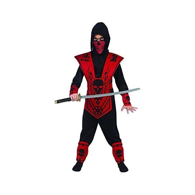 Fun World Sml Blk/RED Skull Lord Ninja