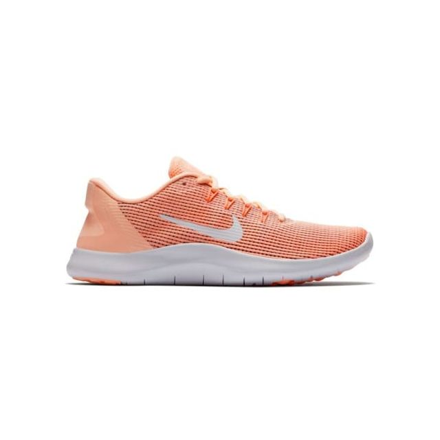 new concept 9d696 f6afb Nike - Chaussures Nike Flex Rn saumon blanc femme