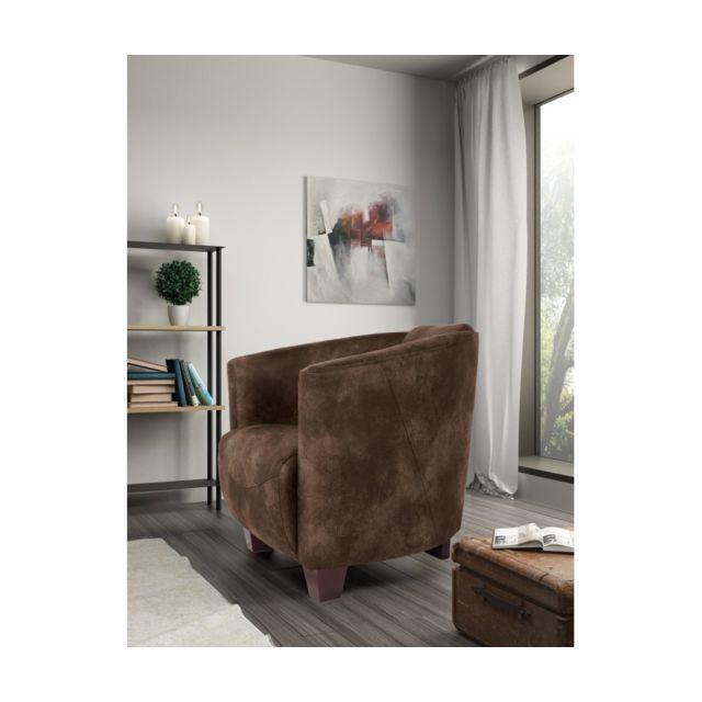 Rocambolesk Fauteuil Havana 1 Tobago 14 brun sofa divan