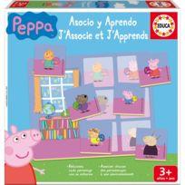 Educa - J'associe et j'apprends : Peppa Pig