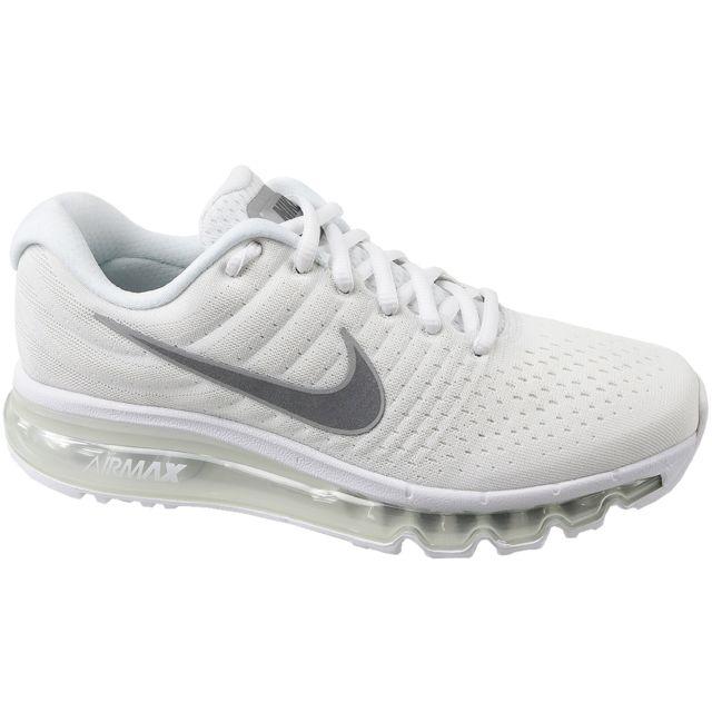 Nike Air Max 2017 Gs 851622 100 Blanc pas cher Achat