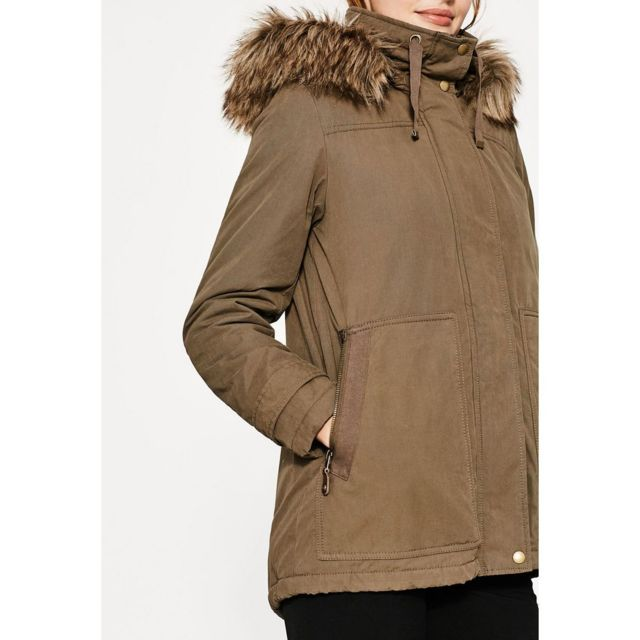 Esprit Parka Kaki Achat Xl Vente Coats Pas Woven Coat Cher WWZ1rSCn7