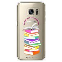 La Coque Francaise - Coque transparente Livres pour Samsung Galaxy S7
