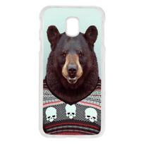 Lapinette - Coque Rigide Pour Samsung Galaxy J3 2017 Ours Hipster Animal