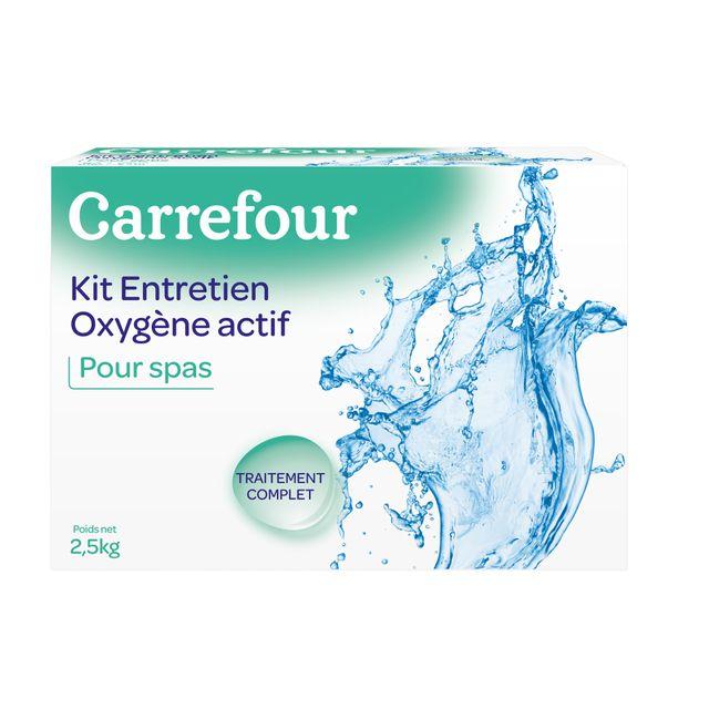 Carrefour Kit D Entretien Avec Oxygene Actif Pour Spa 2 5 Kg