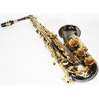 Cherrystone - Saxophone Alto Noir & Doré Mib/Fa & Etui rigide