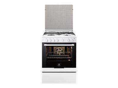 Electrolux Arthur Martin - electrolux - cuisinière mixte 74l 4 feux blanc - ekm6130aow
