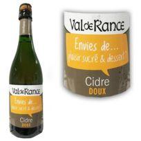 Ecusson - Cidre doux Val de Rance Plaisir sucre et Dessert 2 75cl