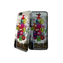 I-PAINT - Coque ''Hard Case'' pour Iphone 6 + Film de protection - Monster