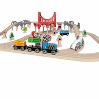 Hape - Chemin de fer à double boucle E3712