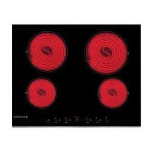 De dietrich table de cuisson vitroc ramique 4 feux 6900w noir dtv1120x achat plaque de - Table de cuisson vitroceramique de dietrich ...