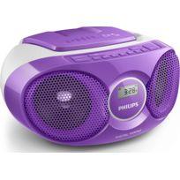 PHILIPS - radio cd portable violet - az215v/12
