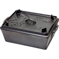 Petromax - Kastenform k8 - Vaisselle - noir