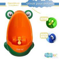 Bebe Lol - Pot bébé urinoir pour enfant en forme de grenouille orange/vert , Bébélol