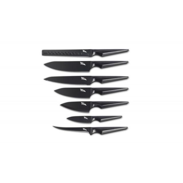 Edge Of Belgravia Set complet de 7 couteaux Galatine Acier