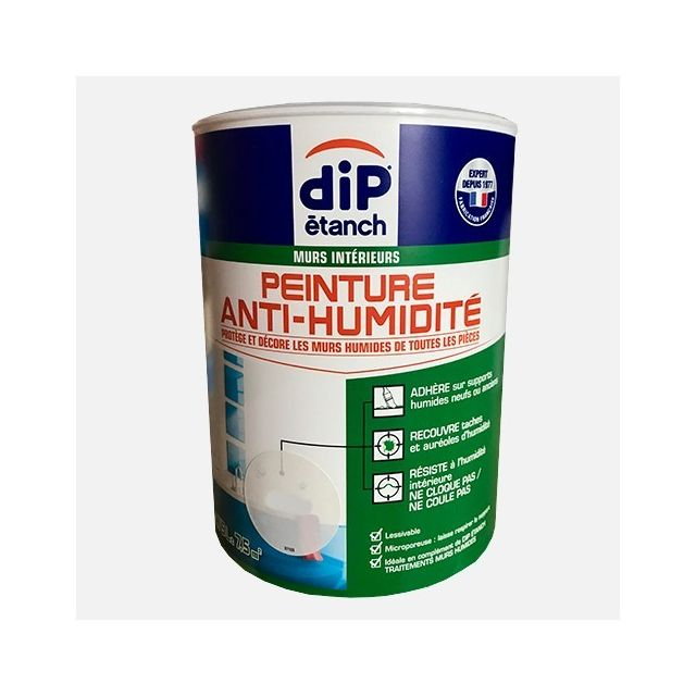 Dip Etanch Dip étanch Peinture Anti Humidité Gris Perle