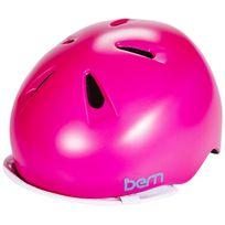 Bern - Nina - Casque - visière Flip incluse rose/bleu