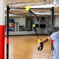 HOMCOM - Sangle de musculation sangle de suspension fitness noir et jaune + sac de transport 24