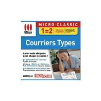 Micro Application - Courriers Types - Pc - Neuf