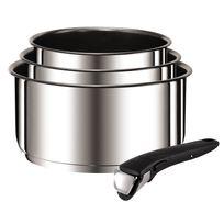 TEFAL - Set 3 casseroles Ingenio Preference 16/18/20 cm inox