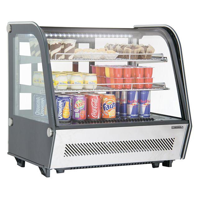 CASSELIN vitrine réfrigérée à poser 120l - cvr120l