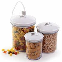 Foodsaver - Lot de 3 bocaux Fsc003I pour appareil mise sous vide