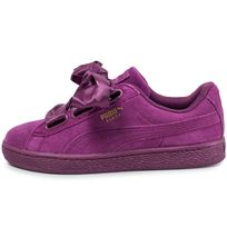 Satin Dark Heart Purple Ii Suede A54c3jLRq