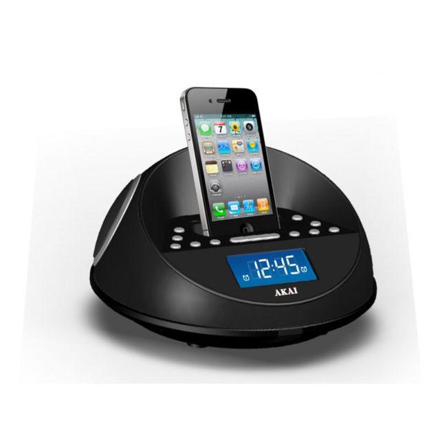 AKAI Station d'accueil iPod - Radio-réveil - ACI-6K