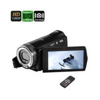 Auto-hightech - Camescope numerique zoom 16x 1080p 20 Mp