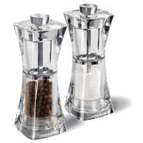 COLE & MASON - duo moulin à poivre + moulin à sel 12.5cm - h37408p