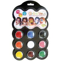 Grim'TOUT - palette de maquillage a l'eau carnaval