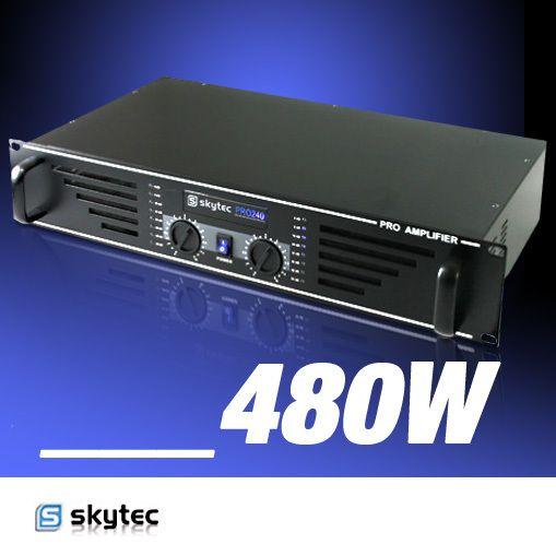 SKYTEC Amplificateur DJ PA sono Mosfet 480W