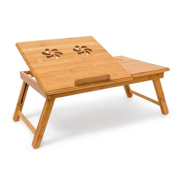 Helloshop26 Table Tablette Support De Lit Pour Ordinateur Portable