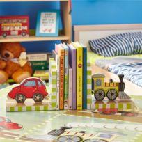 FANTASY FIELDS - Set de serre-livres pour enfant fabriqué artisanalement 2 pièces