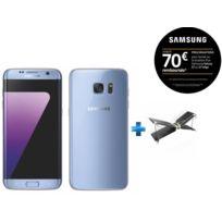 Samsung - Galaxy S7 Edge Bleu + Mini drone Swing + Radiocommande Flypad - PF727003 - Noir et Blanc