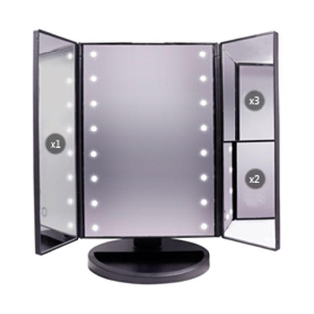 calicosy miroir maquillage lumineux avec led pas cher. Black Bedroom Furniture Sets. Home Design Ideas