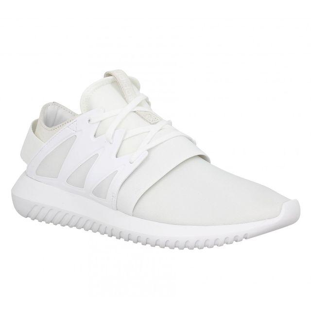 check out 62aee 3fa22 Adidas - Adidas Tubular Viral Femme-37 1 3-Blanc