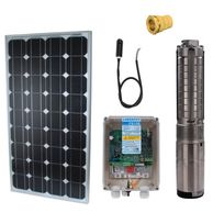 Lorentz - Kit solaire 100W pompe immergee Ps150 C bon debit 2M3 heure a 5m